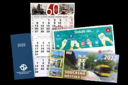 Kalendáře a diáře na rok 2022