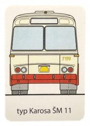 Aromavisačka s motivem autobusu