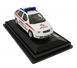 Model Škoda Fabia Pohotovost DP nehody (1 : 72)