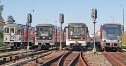 Hrnek Soupravy pražského metra