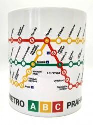 Hrnek Linky pražského metra