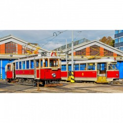 rnek Pražské muzejní tramvaje T1 a Ringhoffer