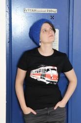 Dámské triko s tramvají T3
