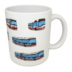 rnek s obrázky pražských autobusů