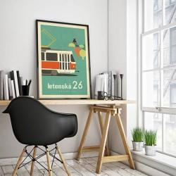 """Plakát """"Letenská dvacet šestka"""" (A2)"""