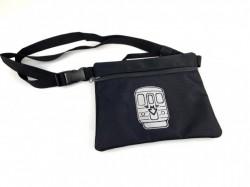 Crossbody taška s reflexním motivem metra (plný potisk)
