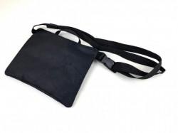 Crossbody taška s reflexním motivem metra (obrys)