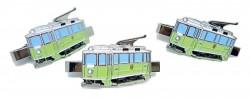 Kravatová spona historická primátorská tramvaj 200
