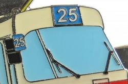 Kravatová spona ČKD Tatra T3 (velká)