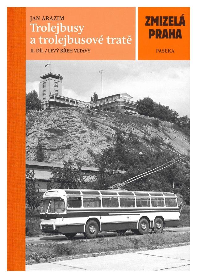 Kniha Trolejbusy a trolejbusové tratě (2. díl)