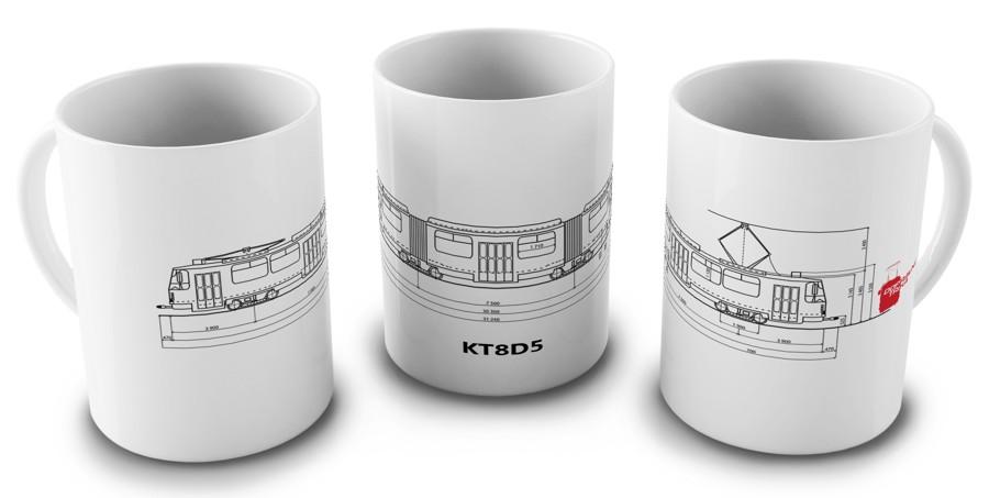 Hrnek ČKD Tatra KT8D5