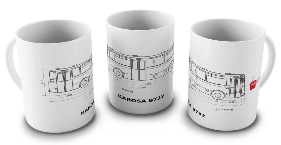 Hrnek Karosa B732