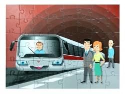 Dětské puzzle – metro