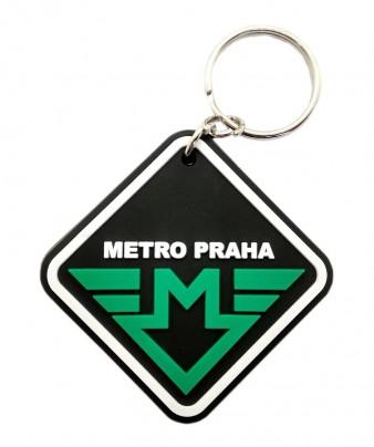 Přívěsek s logem metra A