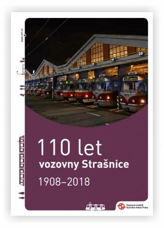 Brožura 110 let vozovny Strašnice