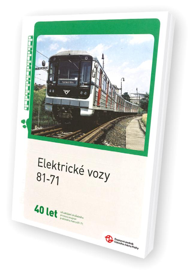 Brožura Elektrické vozy 81-71