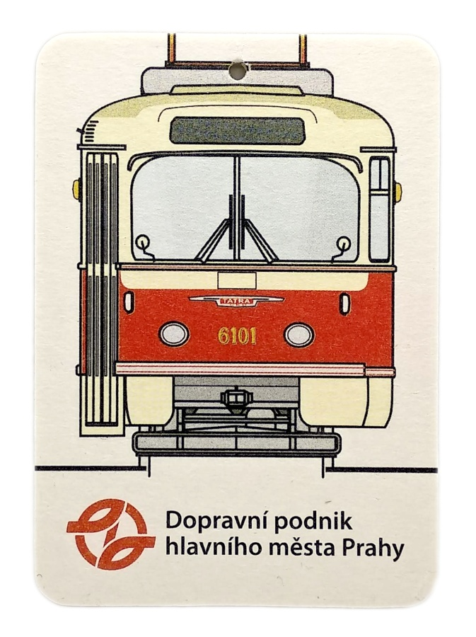 Aromavisačka s motivem tramvaje