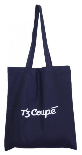 Modrá plátěná taška T3 Coupé