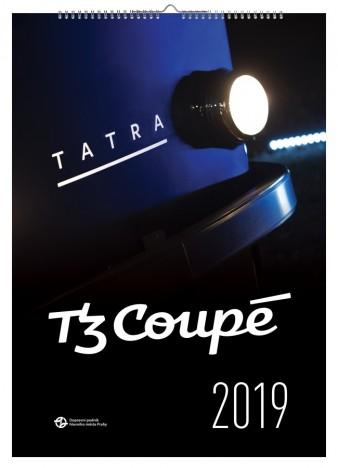 Kalendář T3 Coupé 2019 (s dárkem)