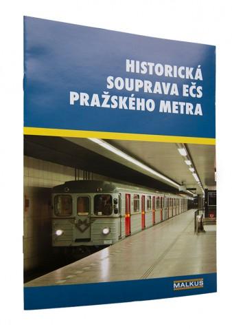 Brožura Historická souprava Ečs pražského metra