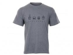 Šedé charitativní triko