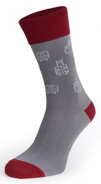 """Charitativní ponožky se cvočky """"Klokart"""""""