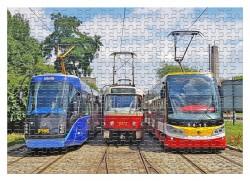 Puzzle Tramvaje ve smyčce Kotlářka (A3)