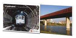Sada 12 pohlednic – Metro