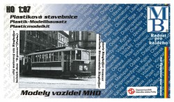 "Stavebnice modelu tramvaje Ringhoffer (9 oken, ""S provoz"") (H0)"