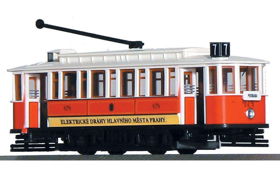 Model tramvaje Ringhoffer (9 oken) (H0)