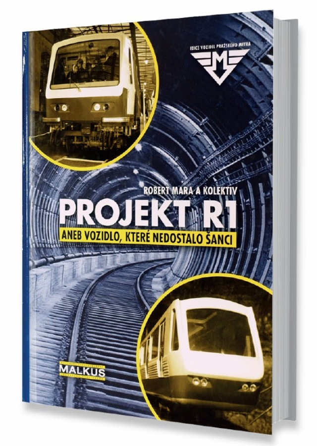 Kniha Projekt R1 aneb Vozidlo, které nedostalo šanci