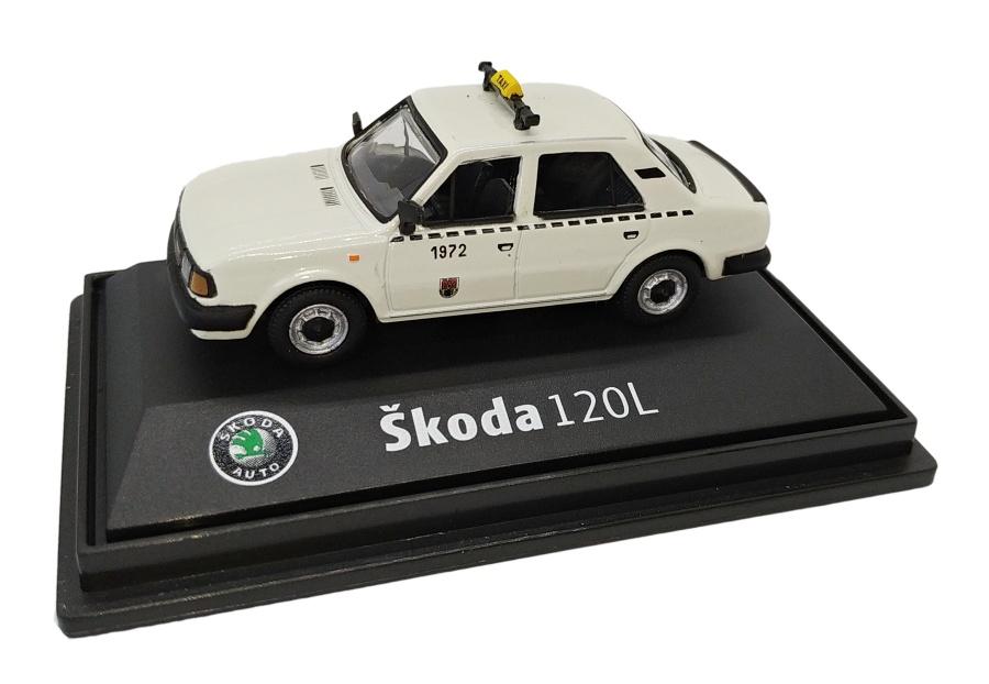 Model Škoda 120 L Taxi DP (1 : 72) slonová kost
