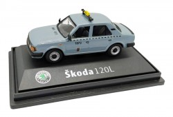 Model Škoda 120 L Taxi DP (1 : 72) šedé