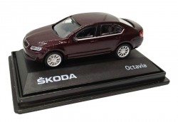 Model Škoda Octavia (1 : 72) bordeaux