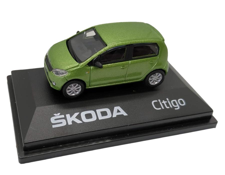 Model Škoda Citigo (1 : 72) zelené