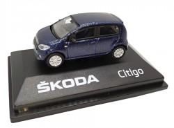 Model Škoda Citigo (1 : 72) modré
