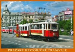 Pohlednice Pražské historické tramvaje 1