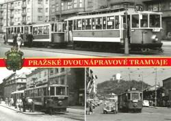 Pohlednice Pražské dvounápravové tramvaje 1