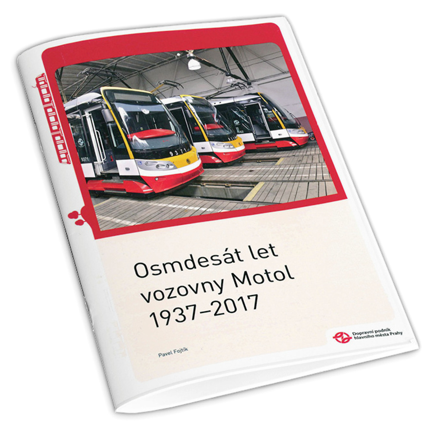 Brožura Osmdesát let vozovny Motol 1937–2017