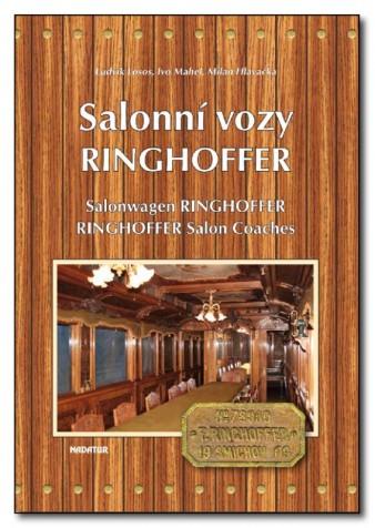 Kniha Salonní vozy Ringhoffer