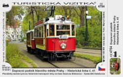 Turistická vizitka Historická linka č. 41