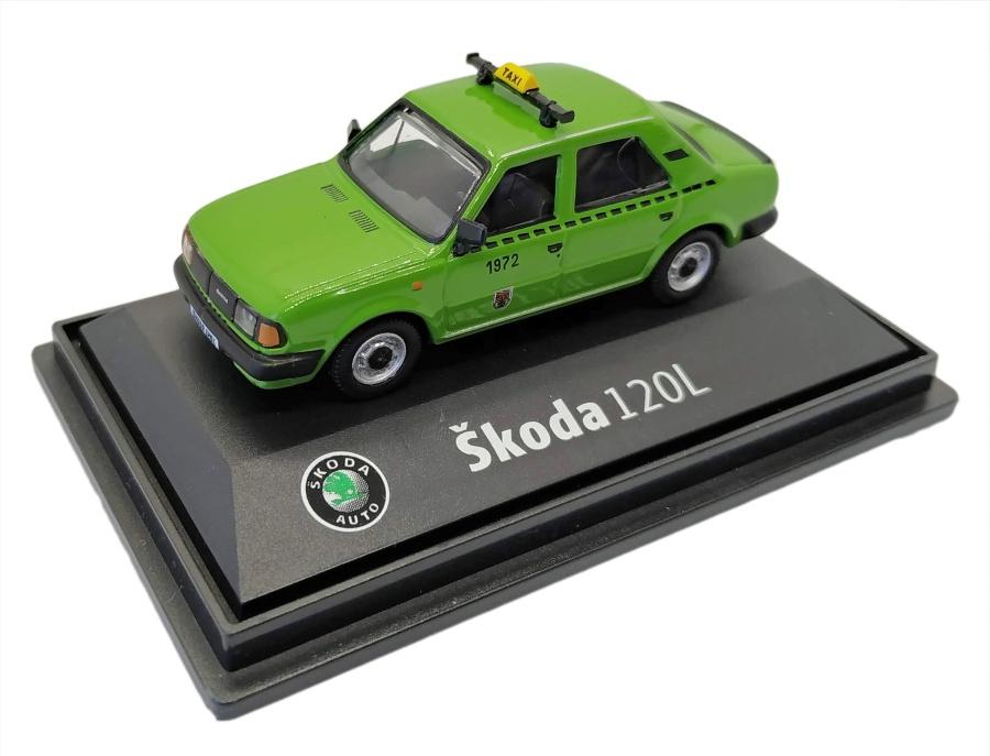 Model Škoda 120 L Taxi DP (1 : 72) zelené