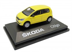Model Škoda Citigo (1 : 72) žluté