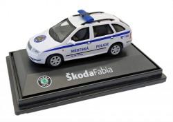 Model Škoda Fabia Městská policie hl. m. Prahy (1 : 72)