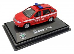 Model Škoda Fabia Hasiči (1 : 72)