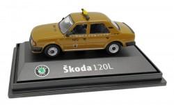Model Škoda 120 L Taxi DP (1 : 72) hnědé
