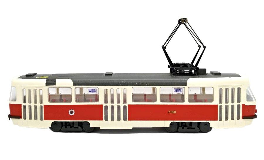 Model tramvaje Tatra T3 SUCS – linka 23 (H0)