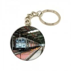 Přívěsek na klíče se soupravou metra Ečs