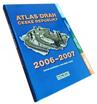 Kniha Atlas drah České republiky 2006–2007