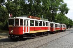 Jízdenka: muzejní tram. souprava 19. 10. 2019 – nástup Vozovna Střešovice